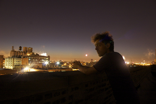 Marc on Chicago rooftop